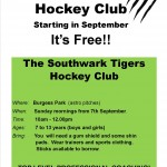 southwark tigers flyer
